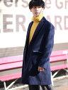 【SALE/54%OFF】GIORDANO (M)メルトンチェスターコート ジョルダーノ コート/ジャケット チェスターコート ネイビー …