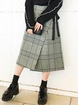 【cheap!!by vaNite】ツイードラップスカート