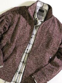 【SALE/50%OFF】MEN'S BIGI ジャカードトラックジャケット メンズ ビギ コート/ジャケット ブルゾン レッド グレー ブラック【送料無料】