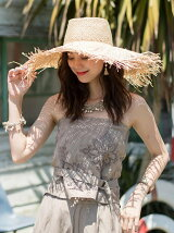 Fringe Wide Hat