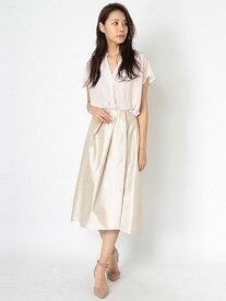 【SALE/78%OFF】sophila ランダムタックスカート ソフィラ スカート スカートその他 ベージュ グレー グリーン