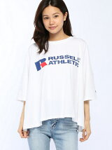 RUSSELE-ATHLETICコラボBIGシルエットTEE(D)