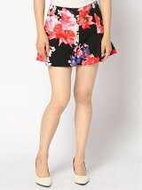 GUESS/(W)MID RISE FAITH PEPLUM SHORT