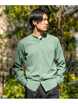 Washable band collar SHIRTS