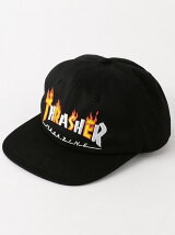 <THRASHER> FLAME SNAPBACK/キャップ
