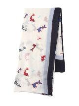 (W)ラージプリントスカーフ
