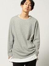BEAMS / ダブルフェイス レイヤード Tシャツ