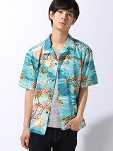 (M)トロピカルオープンカラーシャツ