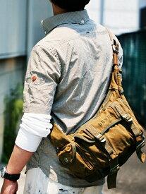 【SALE/10%OFF】DEVICE DEVICE/(M)Cargo ショルダーバッグ デバイス バッグ ショルダーバッグ ベージュ カーキ【送料無料】