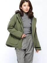 (W)W MTDノルディックフーテッドジャケット