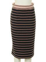 DOUBLE LINE BORDER skirt