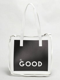 【SALE/60%OFF】MIXXDAVID (W)THE GOODショッパーバッグ ミックスデイヴィッド バッグ【RBA_S】【RBA_E】【送料無料】