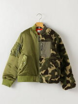 【SHIPS KIDS別注】THE PARK SHOP:MIXBOY JACKET adults(145cm)