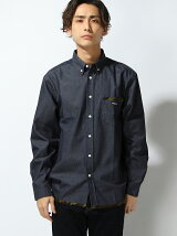 PIPING DENIM B.D SHIRT