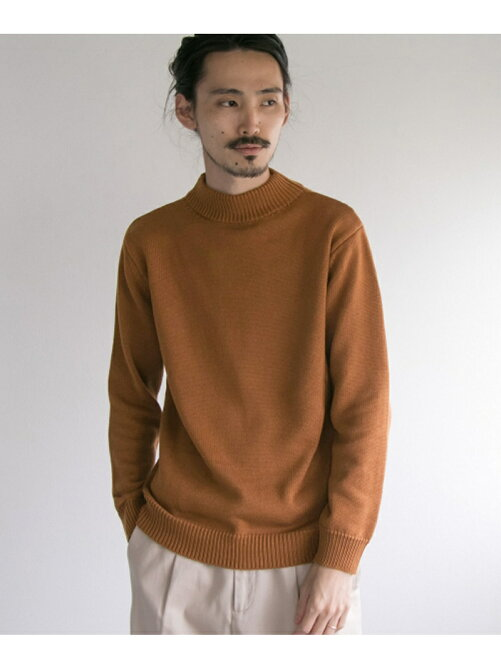 C/A MOCK NECK KNIT