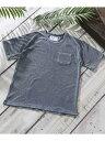 【SALE/40%OFF】ROYAL PALM RPインディゴパイルTシャツ S/S ナノユニバース カットソー【RBA_S】【RBA_E】【送料無料】