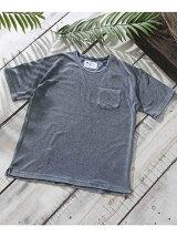RPインディゴパイルTシャツ S/S