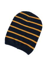 (K)コットンカレッジボーダー帽UP1