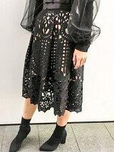 【cheap!!by vaNite】カットワークレーススカート