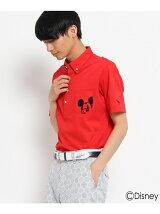 WEB限定「ミッキーマウス」半袖ポロシャツ
