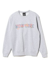 BEAMS T / NEW YORK YANKS Crew Neck