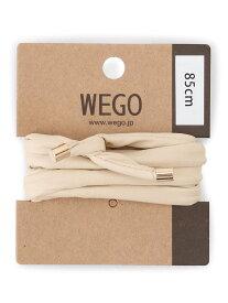 WEGO (L)ワイヤーポニー ウィゴー 帽子/ヘア小物 ヘアゴム ホワイト ベージュ