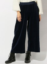 GOOD ON/(W)GO VELOUR WIDE PANTS
