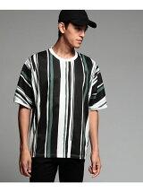ペイントストライプドルマンTシャツ