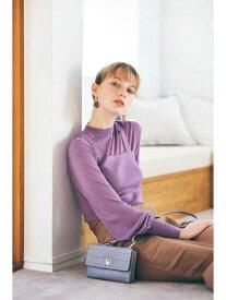 【SALE/37%OFF】N. Natural Beauty Basic ニットビスチェアンサンブル エヌ ナチュラルビューティーベーシック* ニット ニットその他 パープル ホワイト ベージュ ブルー【送料無料】