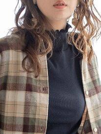 coen 【WEB限定カラー】コットンメロウタートルネックカットソー(ハイネック) コーエン カットソー タートルネックカットソー ブラック ホワイト グレー イエロー ネイビー パープル レッド