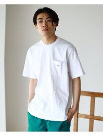 BEAMS MEN DANTON / ロゴ ポケット Tシャツ ビームス メン カットソー Tシャツ ホワイト グレー ブラック ネイビー【送料無料】
