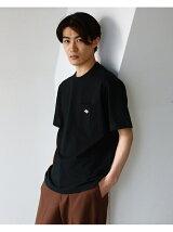 DANTON / ロゴ ポケット Tシャツ