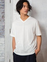 【WEB限定】SC ★★Vネック-Tシャツ