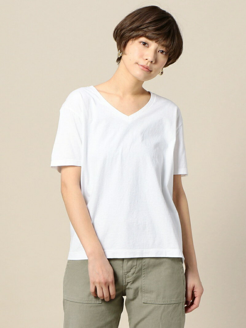 BEAUTY & YOUTH UNITED ARROWS BY TRADITIONAL バイオVネックTシャツ ビューティ&ユース ユナイテッドアローズ カットソー【送料無料】