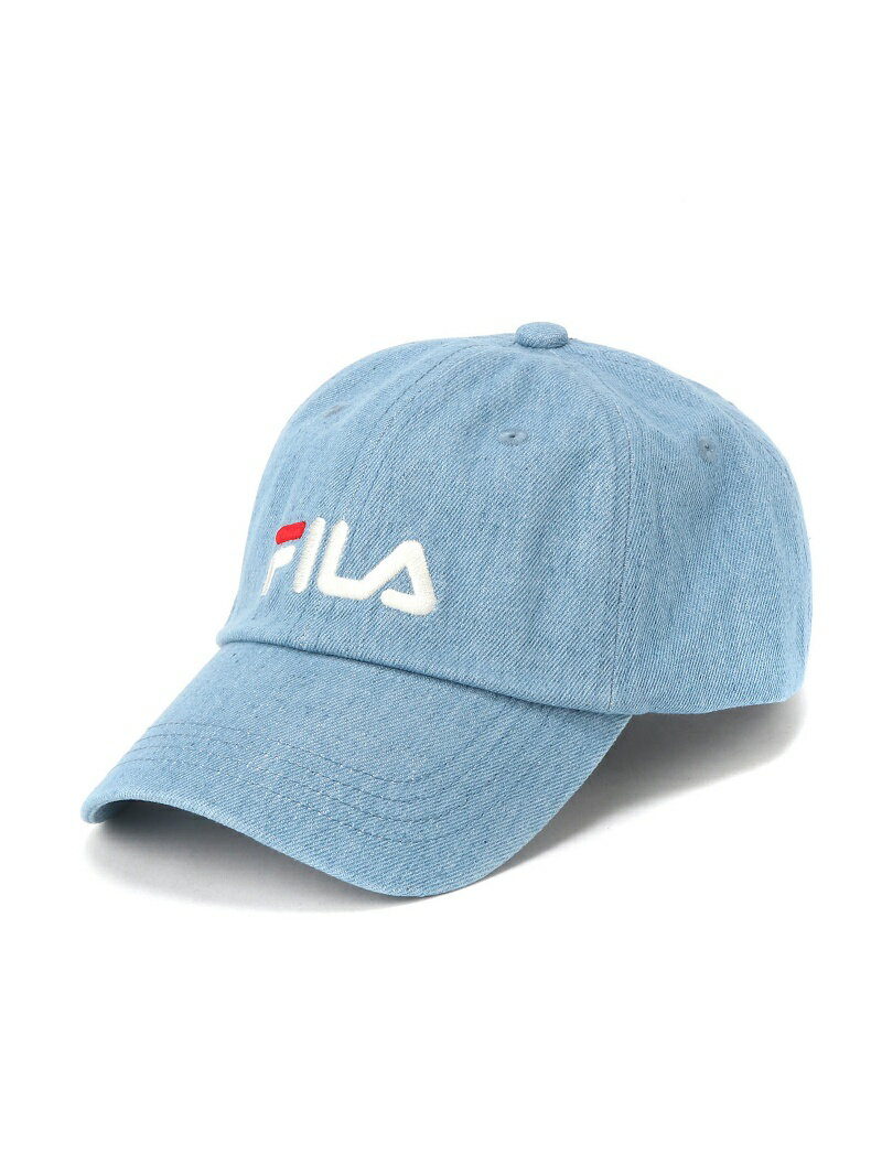 【SALE/20%OFF】FILA/(U)FLS 096 LINEAR LOGO LOW CAP ハットホームズ 帽子/ヘア小物【RBA_S】【RBA_E】