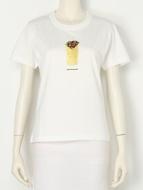 【SALE/20%OFF】beautiful people compact cotton kurdish sand Tshirt ビューティフル ピープル カットソー Tシャツ ホワイト グリーン パープル【送料無料】