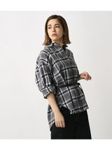 BIGシルエットチェックシャツ