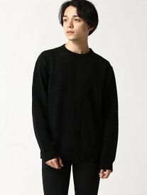 【SALE/30%OFF】SHIFFON KAGAFURI KAMAKURA/KSK-802 シフォン ニット 長袖ニット ブラック【送料無料】