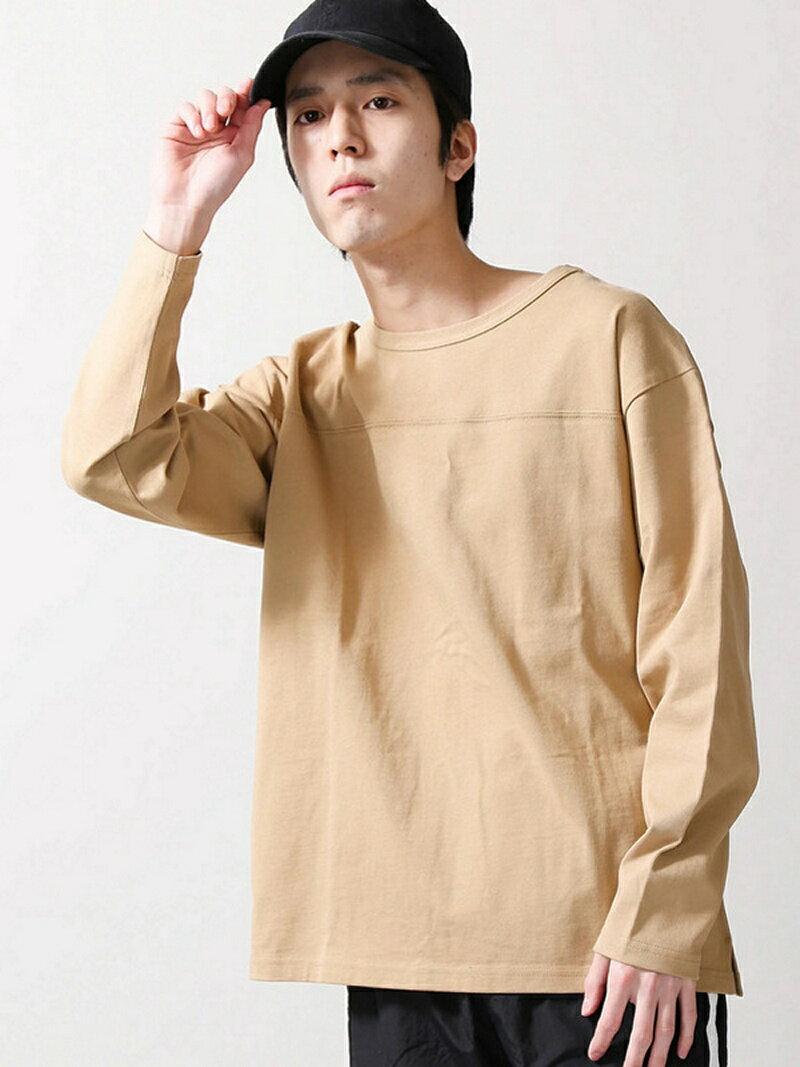 BROWNY BROWNY/(M)ドロップショルダーフットボールTシャツ ウィゴー