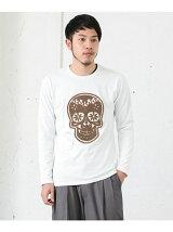 C/N刺繍TEE SKULL