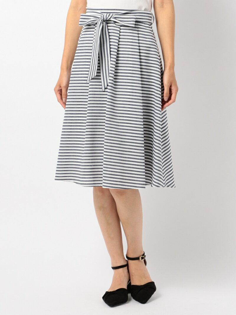 【SALE/50%OFF】MEW'S REFINED CLOTHES ボーダーフレアスカート ミューズ リファインド クローズ スカート【RBA_S】【RBA_E】【送料無料】
