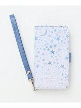 花柄ブック型iPhone5/5s/SEケース