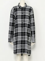 Anti flannel dress Clean tartan