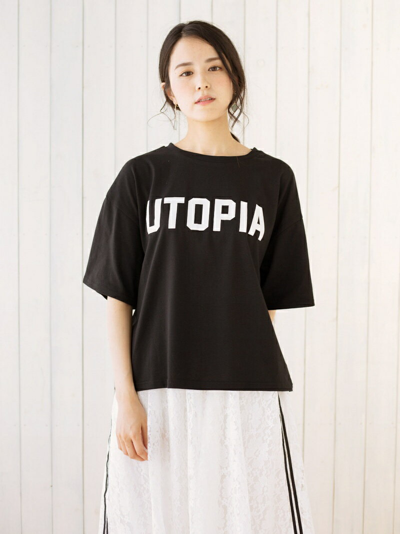 【SALE/36%OFF】Green Parks SELECT RAYCASSIN UTOPIApt Tシャツ グリーンパークス カットソー【RBA_S】【RBA_E】