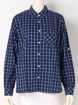 (W)UV チェックシャツ
