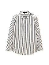 ◆大きいサイズ◆ジャージーシャツストライプ