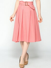 LAISSE PASSE カラーツイルタックSK レッセパッセ スカート【送料無料】