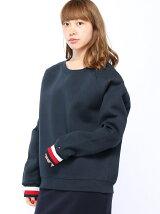 (W)クルーネックスウェットシャツ