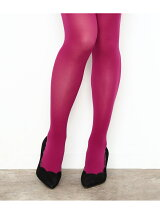 【福助 for ADAM ET ROPE'】COLOR TIGHTS  (30denier)