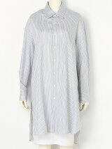 c.stripe long neck shirt